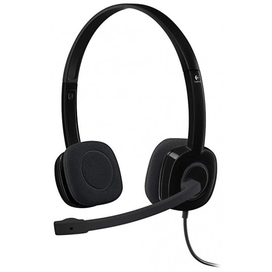Logitech H151 Stereo Headset (981-000587)  Price in Pakistan
