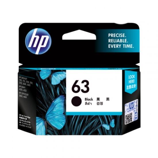 HP 63 Black Original Ink Cartridge F6U62AA  Price in Pakistan