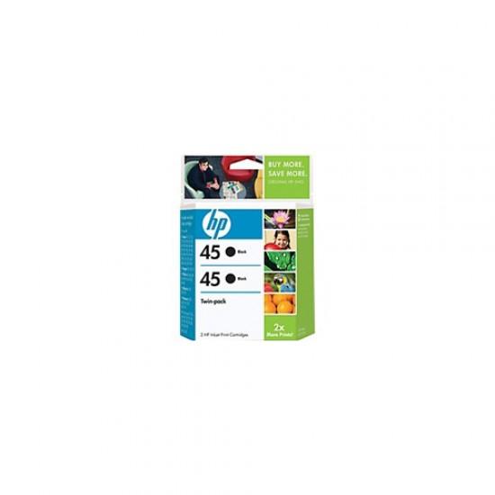 HP 45 Black InkJet Cartridge Twin Pack C6650BN  Price in Pakistan
