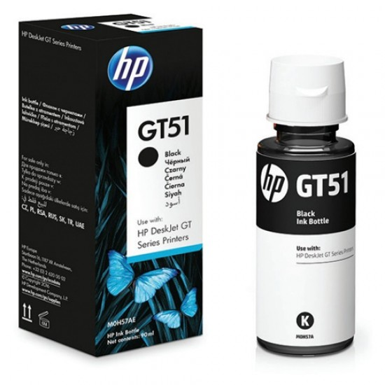 HP GT51 Black Original Ink Bottle M0H57AE  Price in Pakistan