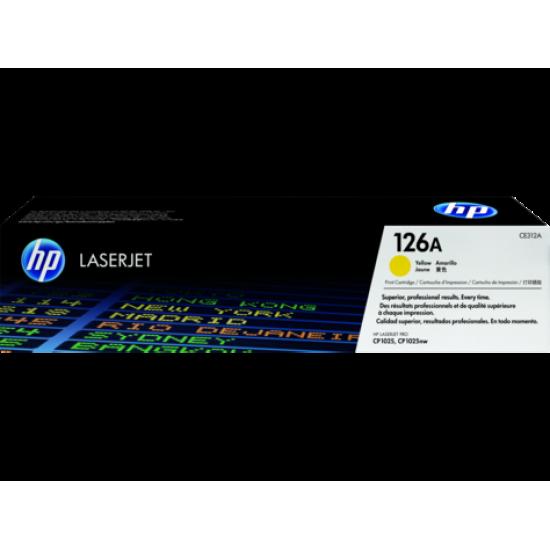 HP 126A Yellow Original LaserJet Toner Cartridge CE312A  Price in Pakistan