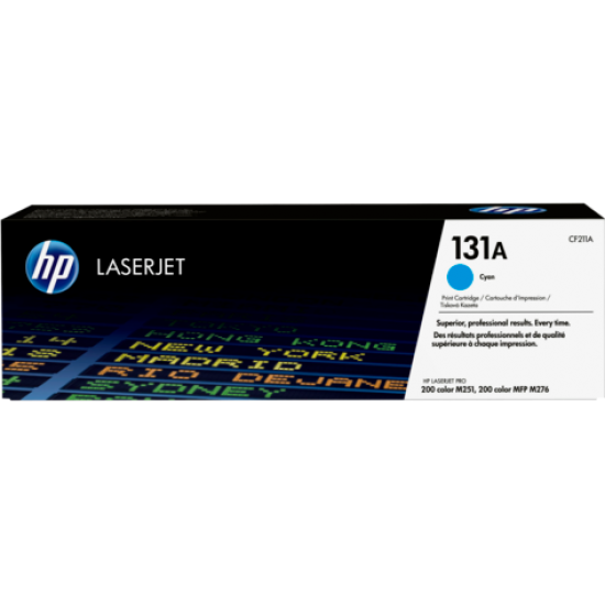 HP 131A Cyan Original LaserJet Toner Cartridge CF211A  Price in Pakistan