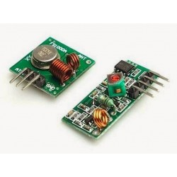 RF 315/433 wireless receiver and transmitter module